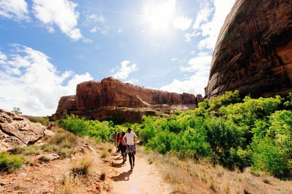 Hiking and walking a pilgrimage